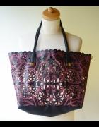 Torebka Ażurowa ALDO Mieści A4 Nowa Shopper Bag...