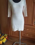 Sukienka firmy Top Shop Rozmiar S koronkowa