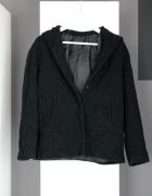 wełniany krótki płaszczyk 80 proc wełny wełna wełniany kurteczk...