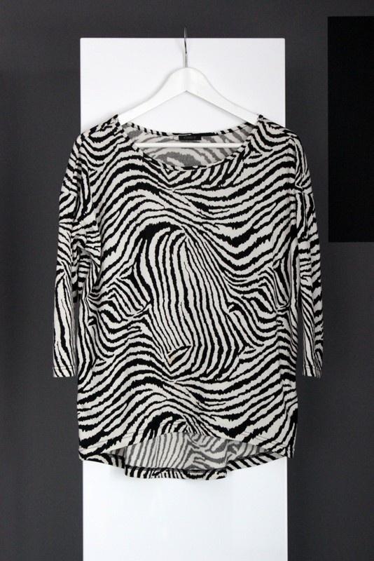 sweterek zebra only oversize cieplutki super uniweralny uni