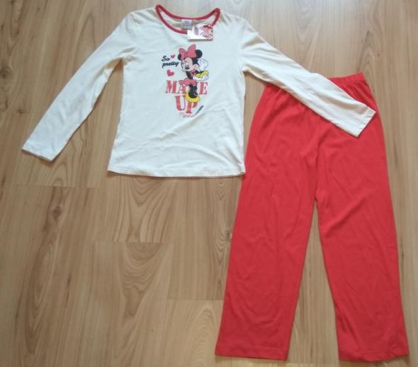 Piżama z długim rękawem nowa Myszka Minni 134 Disn...