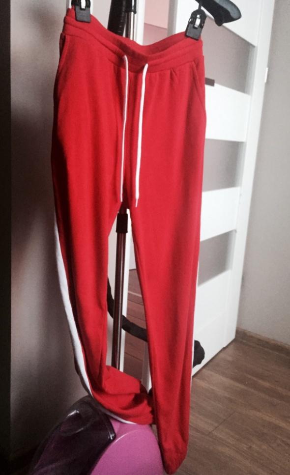 spodnie hm czerwone S M...