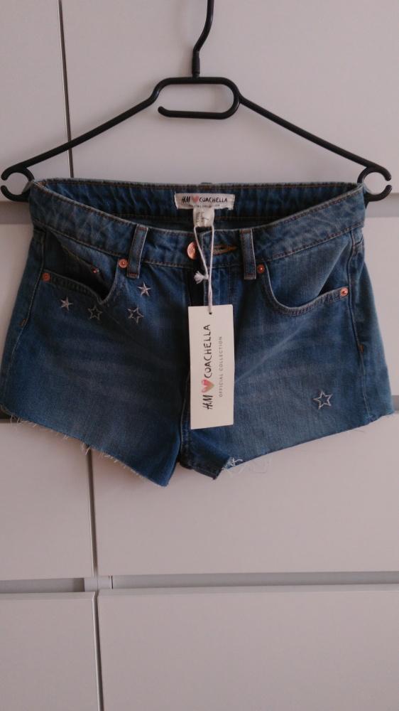 Spodenki Spodenki jeansowe nowe H&M