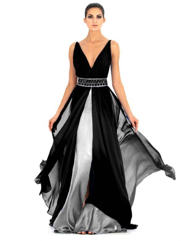 Zjawiskowa suknia S M