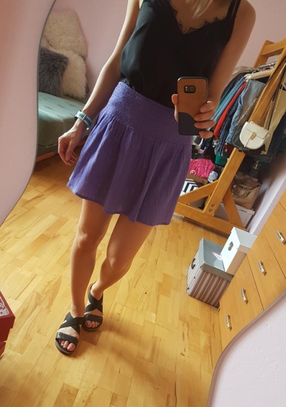 Spódnice Fioletowa spódniczka Mini Nowa