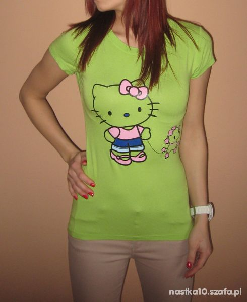 NEONOWA BLUZKA HELLO KITTY 34 36