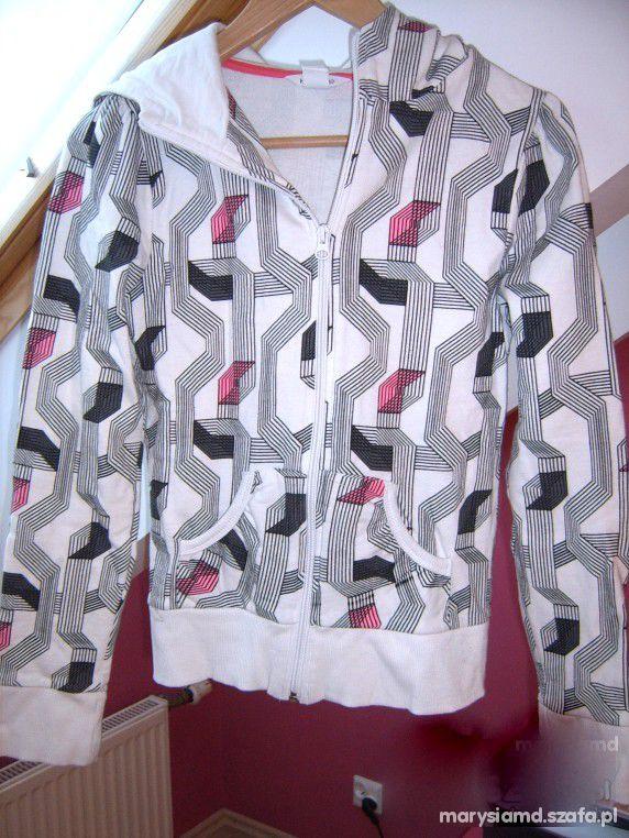 HandM geometryczne wzory bluza