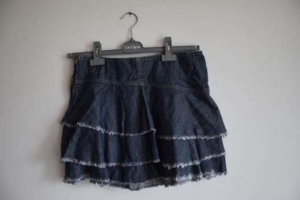 Jeansowa mini Sisley