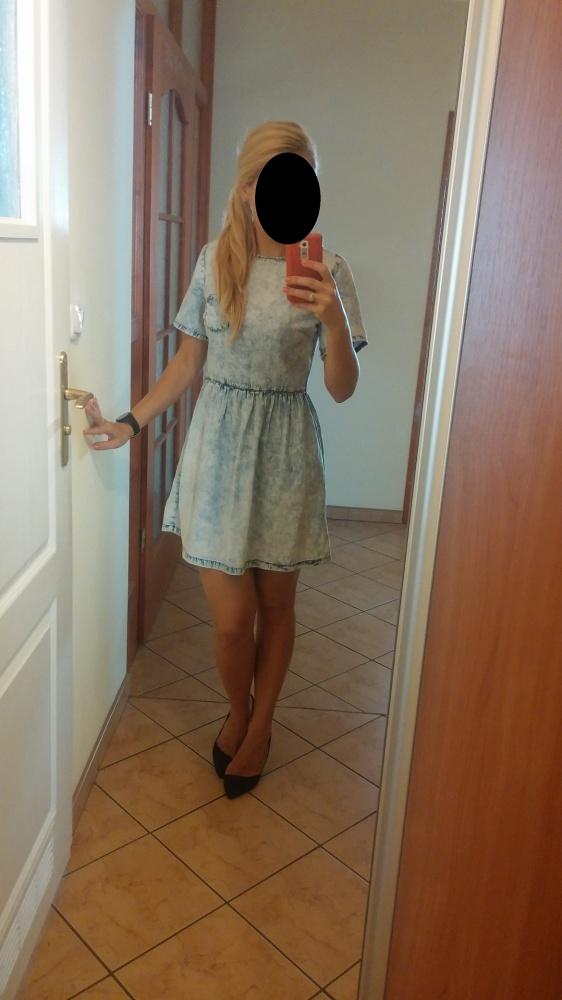 jensowa sukienka S