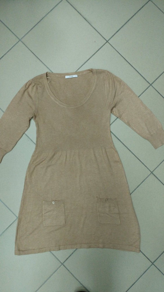 Tunika sukienka beżowa George 40 L