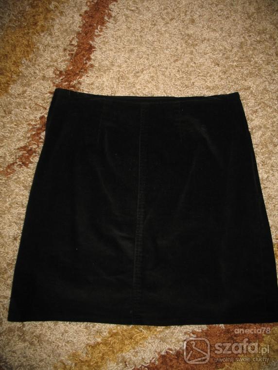 Spódnica sztruksowa