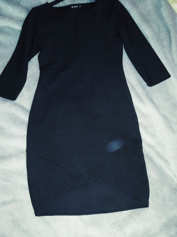 Suknie i sukienki Czarna sukienka mini