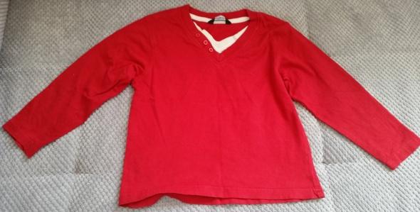czerwona bluzeczka 92 98