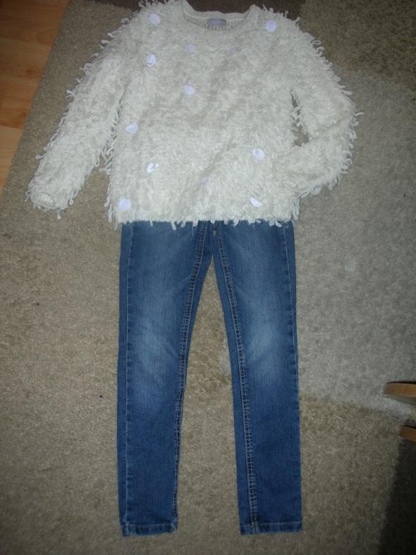 Pozostałe Sweter i spodnie r 128
