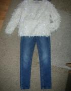 Sweter i spodnie r 128...