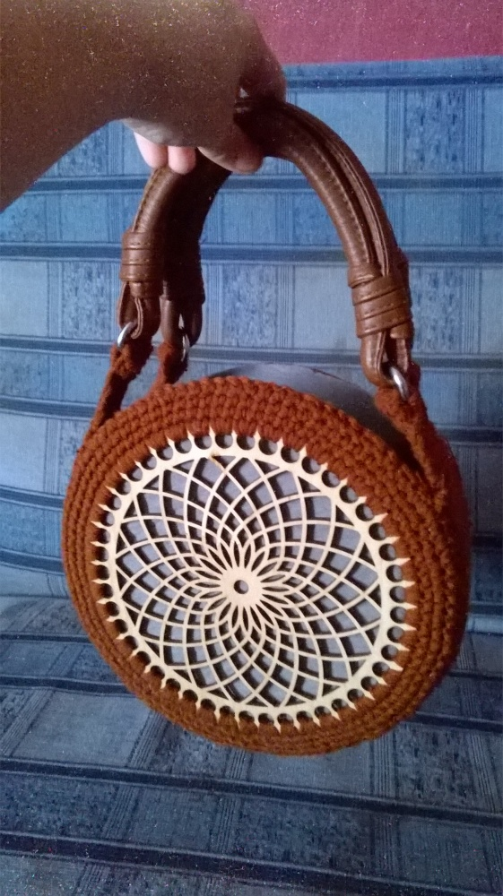 szydełkowa torebka koszyk