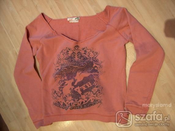 różowa bluza oversized...