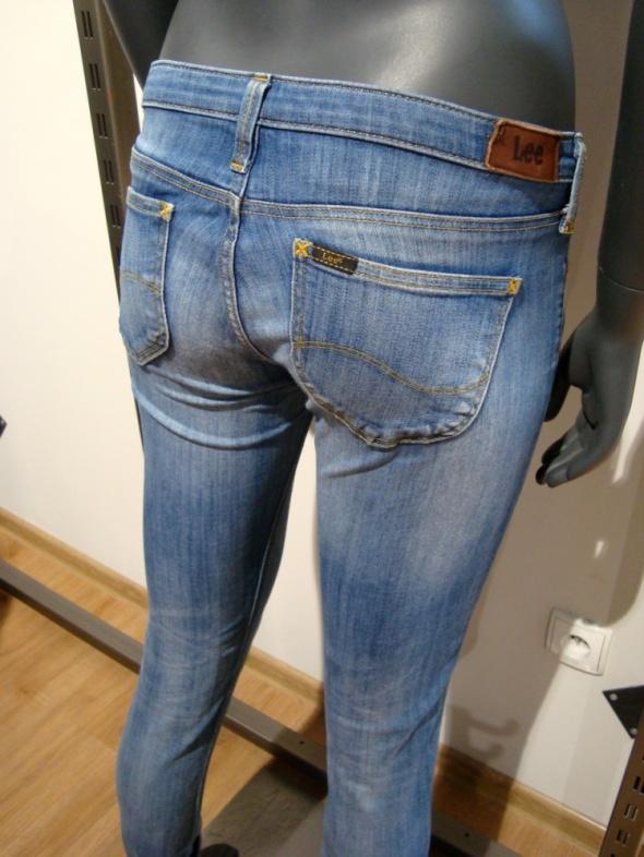 Niebieskie Dżinsy Lee Lynn Skinny XS 25 31