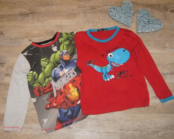 Bluzka chłopiec Avengers rozm 116 do 122 plus gratis