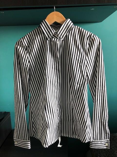Koszula Lambert Wółczanka w pasy wysoka jakość