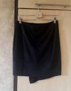 Zamszowa asymetryczna spódnica Carry S...