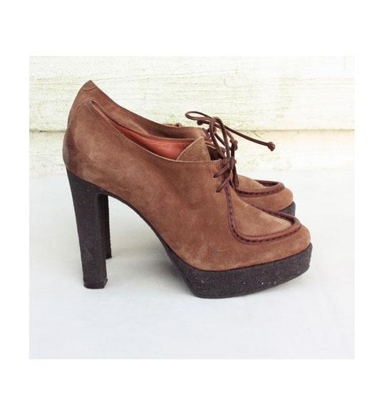 Zamszowe buty L autre Chose