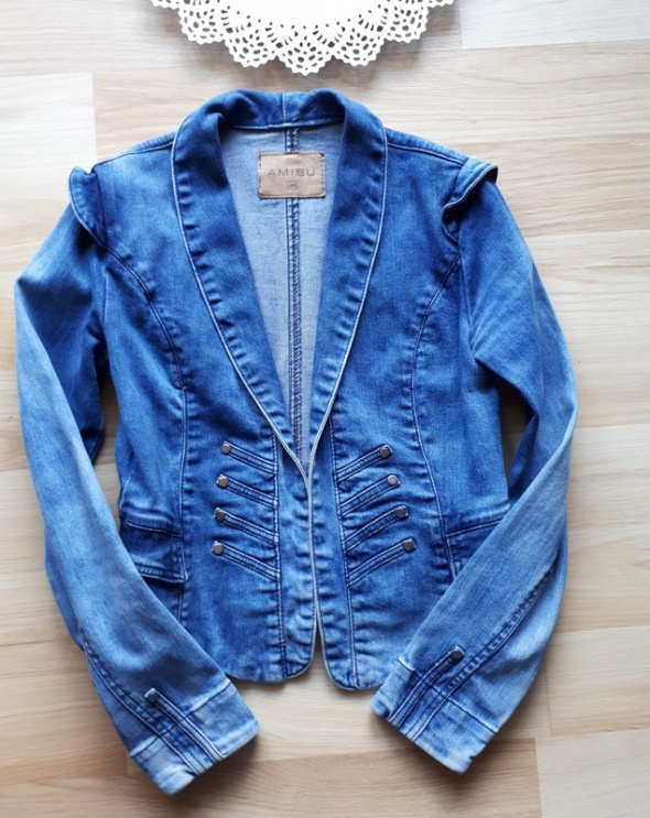Kurtka jeansowa Amisu