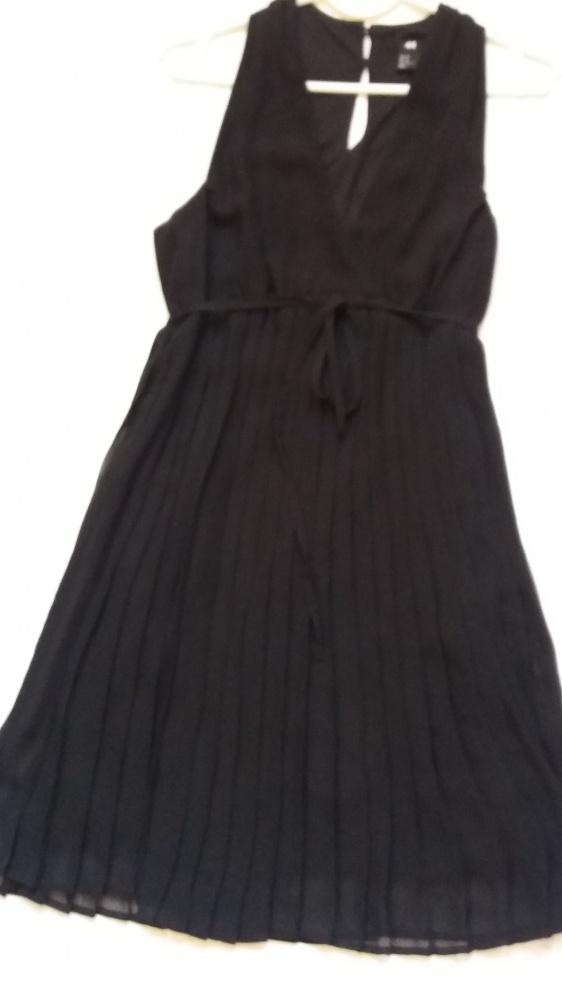 sukienka szyfonowa plisowana