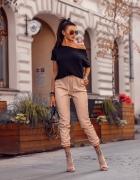 Spodnie Autumn skórzane M...