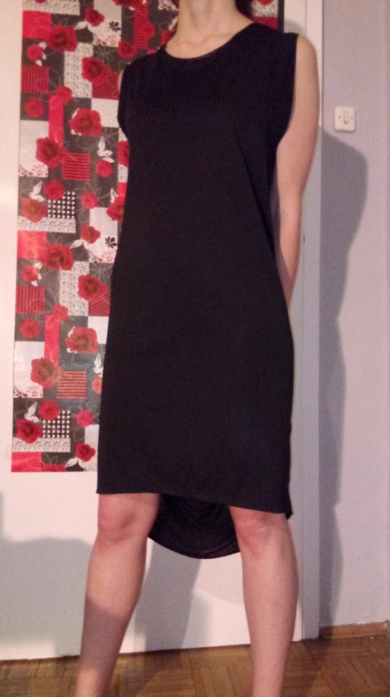 Medicine Czarna sukienka asymetryczna L