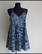 Luźna obszerna sukienka Topshop 42 XL na ramiączkach...
