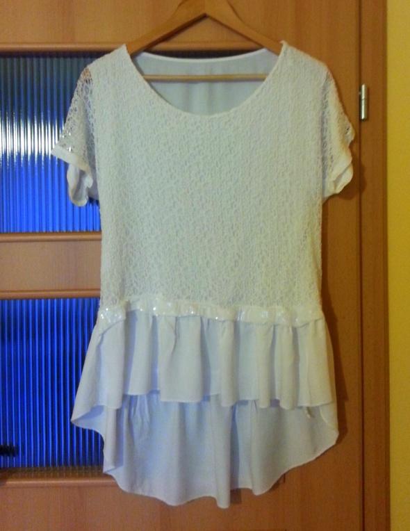 Śliczna biała bluzka prosto z ITALII