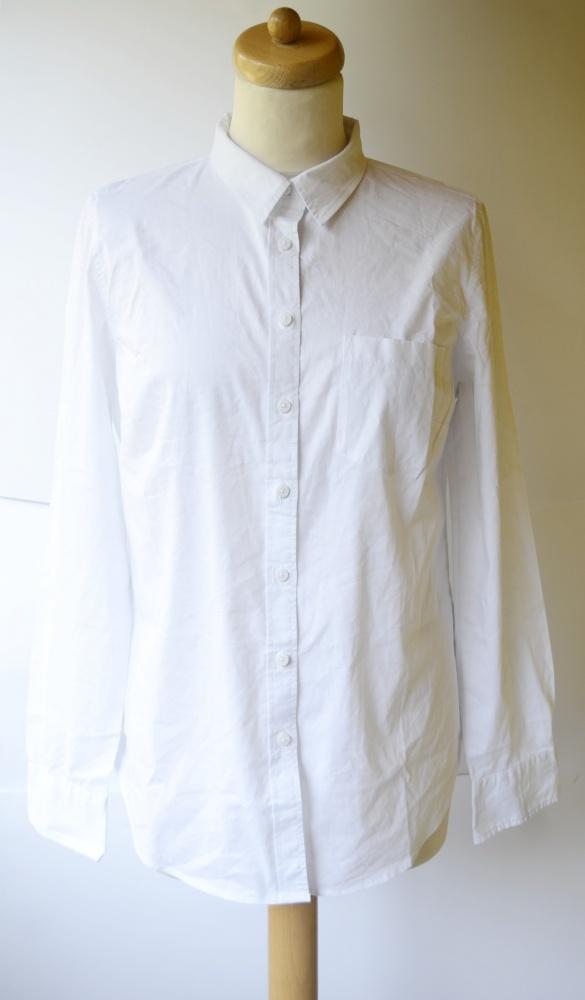 Koszula Biała KappAhl XL 42 Elegancka Biel Do Pracy...