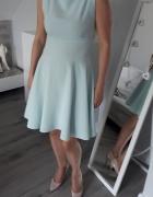 Sukienka błękitna rozmiar 40 idealna na lato
