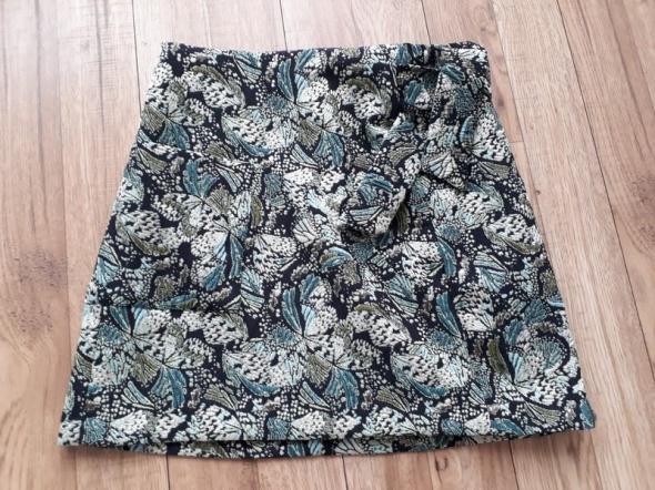 Spódnice Spódnica Mini Zara Basic z kieszonką
