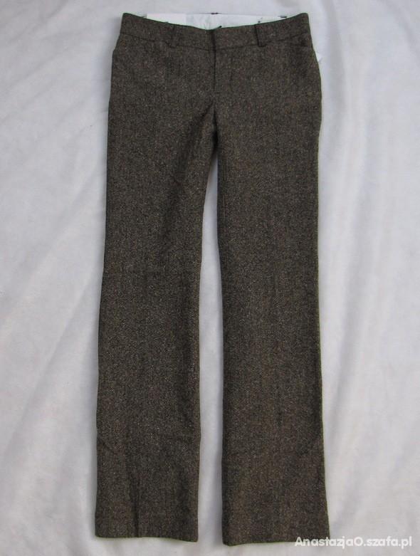 Nowe GAP ciepłe spodnie melanż XS S...