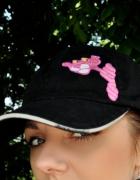 czapka z Różową Panterą...