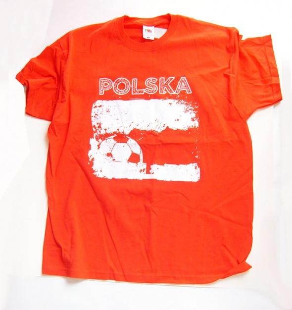 Piłkarska koszulka kibica rozmiar L