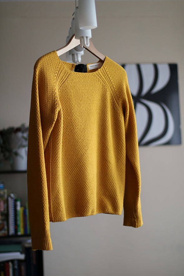 Żółty sweter Reserved M...