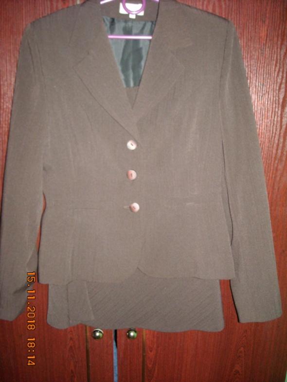 Komplet żakiet spódnica marynaraka garsonka 38 40