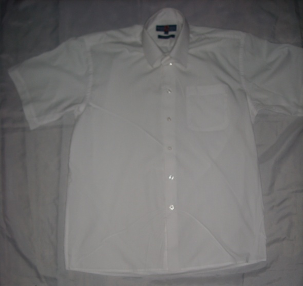 Koszula męska koszula koszula z krótkim rękawem 39 40