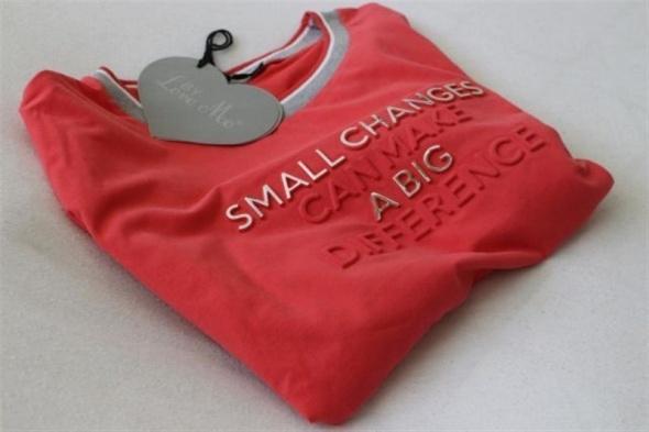 Bawełniana bluza w kolorze maliny