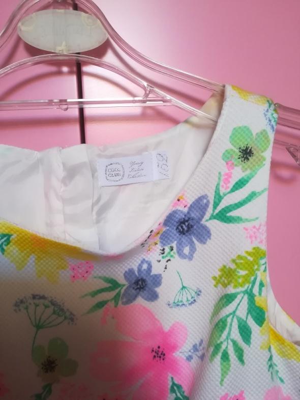 Sukienki i spódniczki Jak nowa firmowa sukienka w kwiaty balerinki gratis