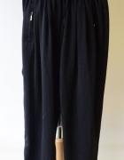 Spodnie Czarne Dresy Zara Trafaluc XS 34 Dresowe Satynowe...