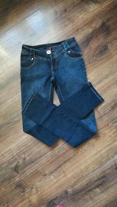 Spodnie jeansowe ciemne nowe nieużywane