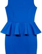 Przepiękna niebieska sukienka rozmiar 42 Darmowa wysyłka