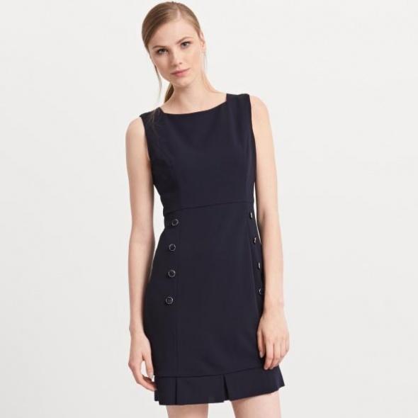 Suknie i sukienki Reserved guziki 34 XS śliczna