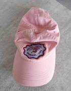 Cottonfield pudrowa czapka z daszkiem...