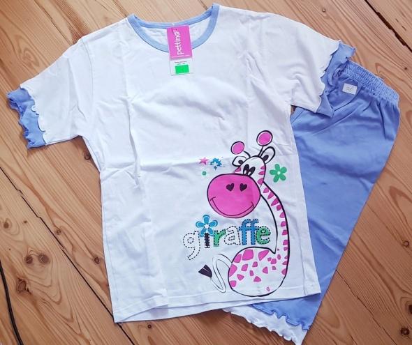Piżamki Piżama dziewczęca Pettino 146 nowa