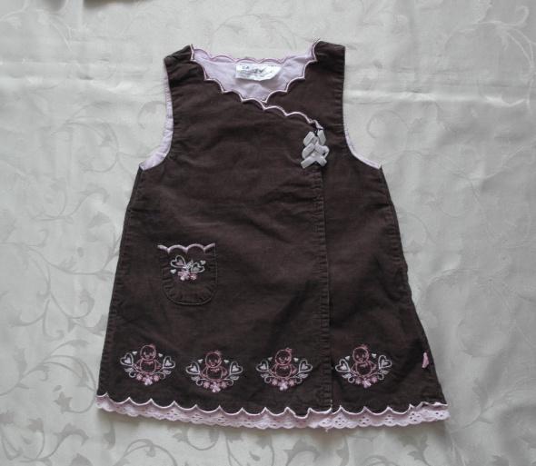 Sukienki i spódniczki Mała sukieneczka dla dziewczynki 68